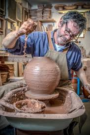 Top of the pots as 40 exhibit at York Ceramics Fair - charleshutchpress