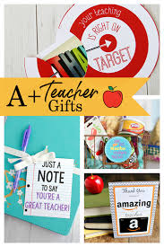 25 teacher appreciation gifts that
