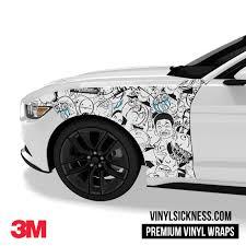 Meme Sticker Bomb Car Truck Vinyl Wraps Vs
