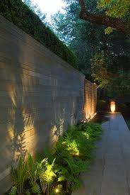 Stephen Stimson Associates Woodland Residence Lighting The Plants Beautiful Shadow O Garden Lighting Design Landscape Lighting Design Rustic Garden Lighting