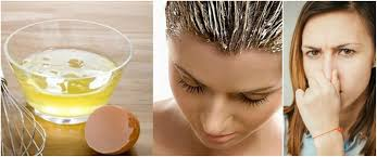 get rid of egg smell from hair