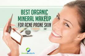 organic mineral makeup for acne e skin