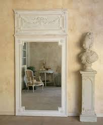 large reproduction trumeau mirror