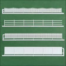 20 Piece Ho Scale Fencing Assortment 4 Styles