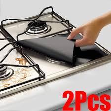2pcs glass fiber gas stove protector