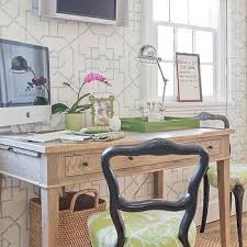 thibaut bamboo lattice aqua wallpaper