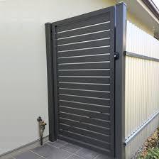 China Fence Panel Aluminum Slat Fence Galvanized Steel Fence Slat Fence Gate China Door Fence Gate