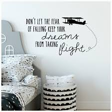 Don T Let The Fear Of Falling Keep Your Dreams From Taking Flight Vinyl Lettering Sticker Wall Decal Quote A Wall Quotes Decals Fear Of Falling Vinyl Lettering