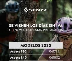 Mañana..dia sin IVA. Scott aspect 930 a... - Tienda Bike Hike ...