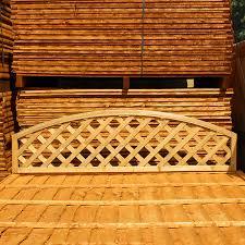 diamond lattice garden fence panels