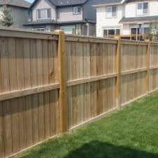 Classy Pine Stockade Pressure Treated Wood Fence Panel For Backyard Fence Ideas With Green Grass Gardening Design Building A Fence Wood Fence Design Wood Fence