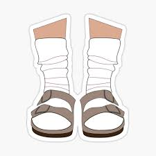 Sandals Stickers Redbubble