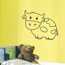 Shop Cow Kids Room Vinyl Wall Art Decal Sticker Overstock 10578141