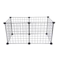 Small Playpen Iron Enclosure Run Cage Dog Rabbit Indoor Outdoor Puppy Foldable Pet Fence Lazada Ph