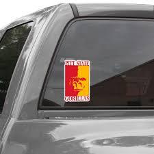 Pittsburg State Gorillas Car Decals Gorillas Bumper Stickers Decals Fanatics