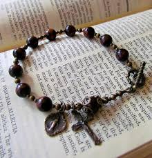 handmade catholic rosary bracelets