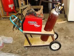 frivolous at heart homemade welder cart