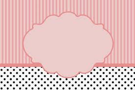 Pink White And Black Stripes And Polka Dots Free Printable