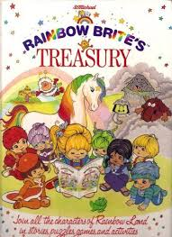 RAINBOW BRITE 'S TREASURY by Compiled by HILDA YOUNG Book The Fast ...