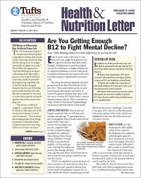 subscribe tufts health nutrition letter