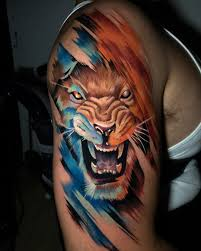 155 Attractive Lion Tattoo Design Ideas ...