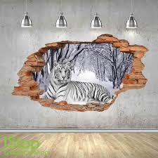 White Tiger Wall Decal Daniel Large Neighborhood Design Vinyl Clemson Vamosrayos