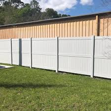 Weatherables Augusta 6 Ft H X 8 Ft W White Vinyl Privacy Fence Panel Kit Pwpr 3r 6x8 The Home Depot
