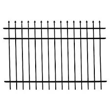 Fortress Athens Pressed Spear 6 Ft W X 4 Ft H Aluminum Fence Panel 413487143m At Tractor Supply Co