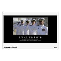 Leadership Wall Decals Stickers Zazzle