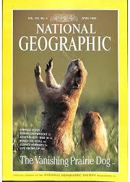 national geographic magazine april 1998
