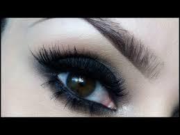easy black smokey eye you