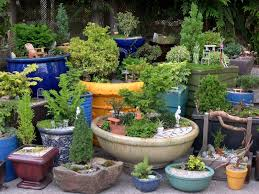container ideas for miniature gardening