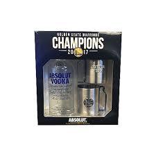absolut vodka warriors gift pack 750