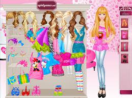 barbie dress up games makeup fashion name