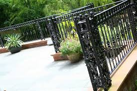 High Quality Cast Iron Outdoor Metal Railing Patio Fence Design For Sale Iok 155 You Fine Sculpture