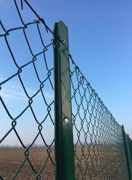 Telinea Green T Post The Plastic Coated T Post Buy Online On Fenceshop Eu