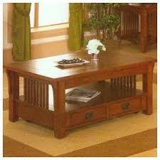 alpine furniture craftsman style table