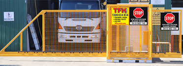 Automated Gate Temporary Barrier Fence Temporary Fence Hire