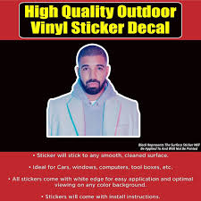 Drake Vinyl Car Window Laptop Bumper Sticker Decal Bumper Stickers Vinyl Bumpers