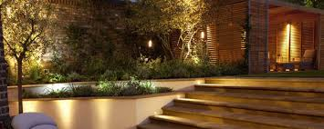 patio lighting garden lights modern