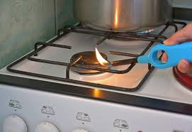 how to fix a stove burner that won t light