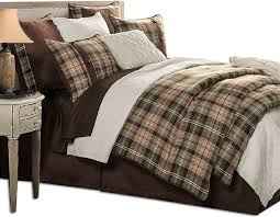forest plaid comforter set rustic