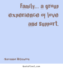quotes about family support on quotestopics