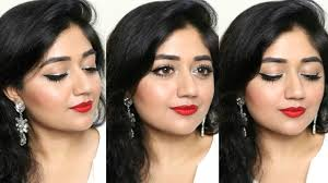 party makeup tutorial for indian skin