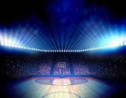 basketball arena wallpaper mural