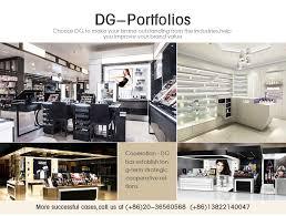 gl cosmetic showcases dinnggui