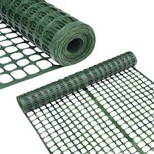 Abba Patio Snow Fence 4 X 100 Feet Plastic Safety Fence Roll Temporary Poultry Fencing Mesh Economy Construction Fencing For Deer Lawn Rabbits Chicken Poultry Dogs Green On Galleon Philippines