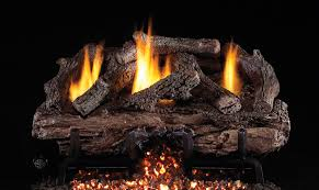 real fyre charred aged split oak vent