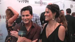 """Adam Green - Writer of Hatchet III and Rileah Vanderbilt """"Dougherty""""  Hatchet 3 Premiere - YouTube"""