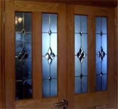 stained glass interior doors